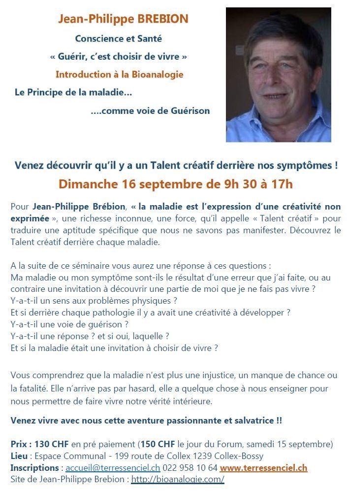 Terressenciel Seminaire Bioanalogie Jean-Philippe Brebion